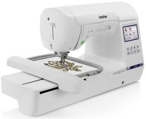 SE1900 best embroidery machine for monograms